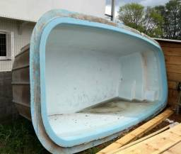 Piscina de Fibra Casco 27000 litros *USADA