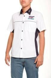 Camisa Social Masculina Uniforme - Uniforme Camisa Social Masculina 5 peças