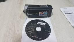 Handycam Sony DCR-SX21 nova na caixa