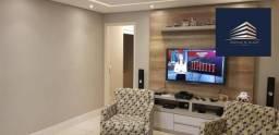 Apartamento no Condomínio Solon Vila Rosália,  137m², 3 Dormitórios, 2 Vagas, Estuda `Perm
