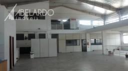 Abelardo imóveis - galpão localizado no bairro itoupava norte. possui 2.600 m² área constr