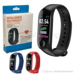 Relógio Inteligente Smartband M3 Android Bluetooth Pulseira (Aceito Cartão)