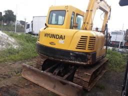 Escavadeira hyndai 8 ton imperdivel