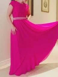 Vestido lindo longo