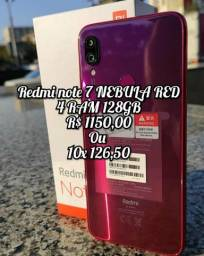 Redmi note 7 NEBULA RED 4 RAM 128GB
