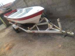 Carreta rodoviária para barco de alumínio e fibra - 2019