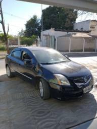 Vendo ou troco por carro mais novo. Sentra completo 2.0 automático (CVT) 2011