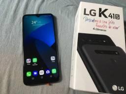 LEIA a Descrição! LG K41s. 32gb + 3gb Ram. Aparerlho ZERO, 3 dias de uso. Campos,RJ