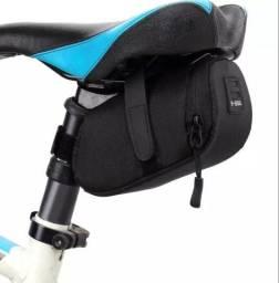Suporte bolsa para banco bicicleta estojo Bike ajustável