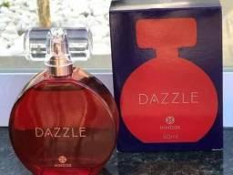 Perfume Dazzle  color vermelho 60ml feminino  (  Oriental vanilico )  perfume doce