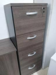 Arquivo de madeira 4 gavetas