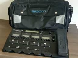 Pedaleira ZOOM G5N com case original