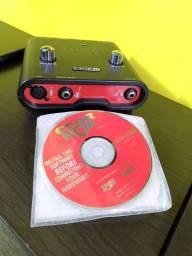 12x R$ 83 s/ juros crédito - Record Line 6 Tone - Seminova! C/ Cds Originais