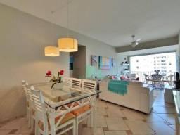 Apartamento na Praia, vista mar, reformado, 3 dormitórios + dependência de empregada, 1 va