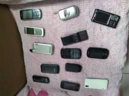 Coleciona celulares antigos