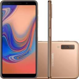 Smartphone Samsung Galaxy A7 Cobre 64GB 4GB Dorado - Usado