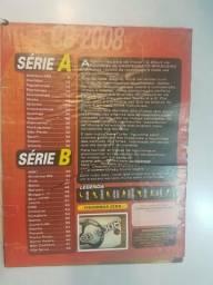 Álbum De Figurinhas Brasileirão 2008 Completo