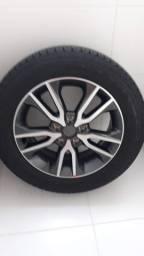 1 Roda nova/zero original da Creta com 1 pneu