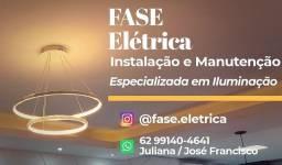 Eletricista- especializada em ILUMINAÇÃO