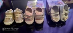 Vendo sapatinhos de bebe