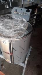 Fritadeira elétrica água e óleo, Nova, em inox, 25L