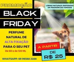 Perfume Pet Alta Fixação Natural Pet - Black Friday