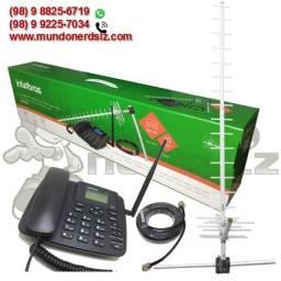Kit Telefone Rural Intelbras GSM 2 chip em são luis ma
