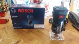 Tupia laminados bosch 550w R$450,00 a vista novo sem uso com garantia