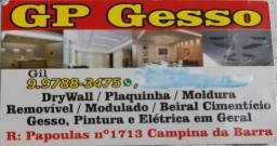 Gesseiro Profissional *Gil*