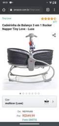 Cadeira de balanço luxo