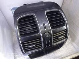 Moldura Preta Difusor Fiat Grand Siena 12/ Usado Original