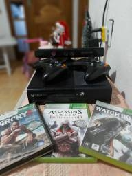 Xbox 360 Original 500GB - 2 Controles - Kinect - 10 JOGOS INCRIVEIS
