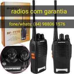 Duplo radio para empresa