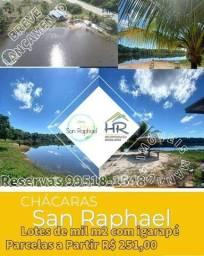 San Raphael chácaras 1.000m2