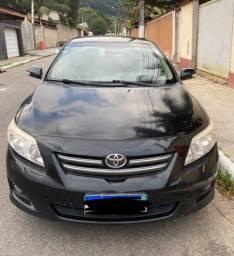 Toyota Corolla 2010 auto preto