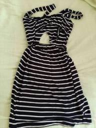 Lindo vestido listrado