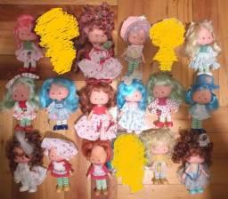 Lote bonecas Moranguinho
