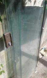 2 conjuntos de portas de blindex 8mm  800,00