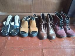 Lote de sapatos n 37