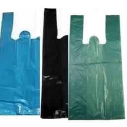 sacolas plásticas recicláveis