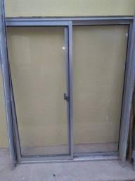 Porta e janela alumínio usados