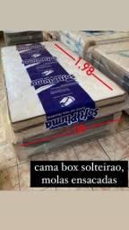Cama box solteirao