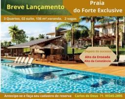 Não perca a chance:  Lançamento  Praia do Forte Exclusive, 3 Quartos, 2 suítes, 136 m²