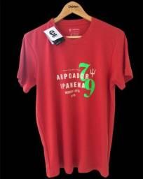 Título do anúncio: Camisas malhao Osklem - Kit 3 Por 165,00