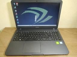 Ultrabook Samsung i5 Oitava Geração, 8GB ram DDR4, HD 1000GB. Placa vídeo nVidia  MX110