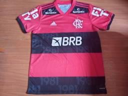 Camisa Flamengo premiação do título