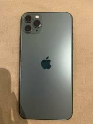 Título do anúncio: iPhone 11 Pro Max verde 64Gb