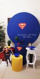 Título do anúncio: Decoração de festa SUPERMAM E MULHER MARAVILHA