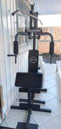 Estação de Musculação 80kg WCT Fitness -  Pouco usado, em ótimo estado