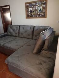 Vendo sofás retrátil e reclinável